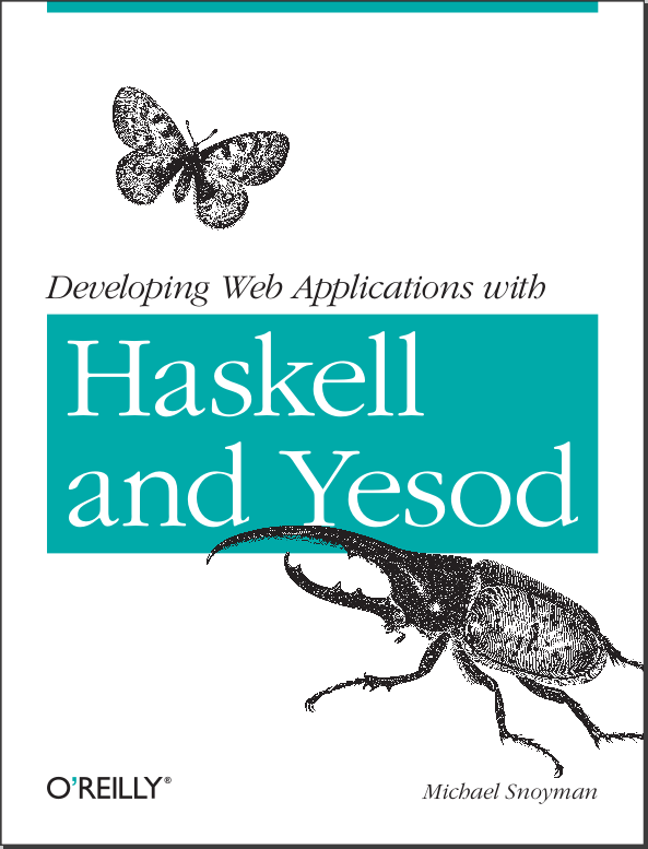 Yesod Web Development book cover
