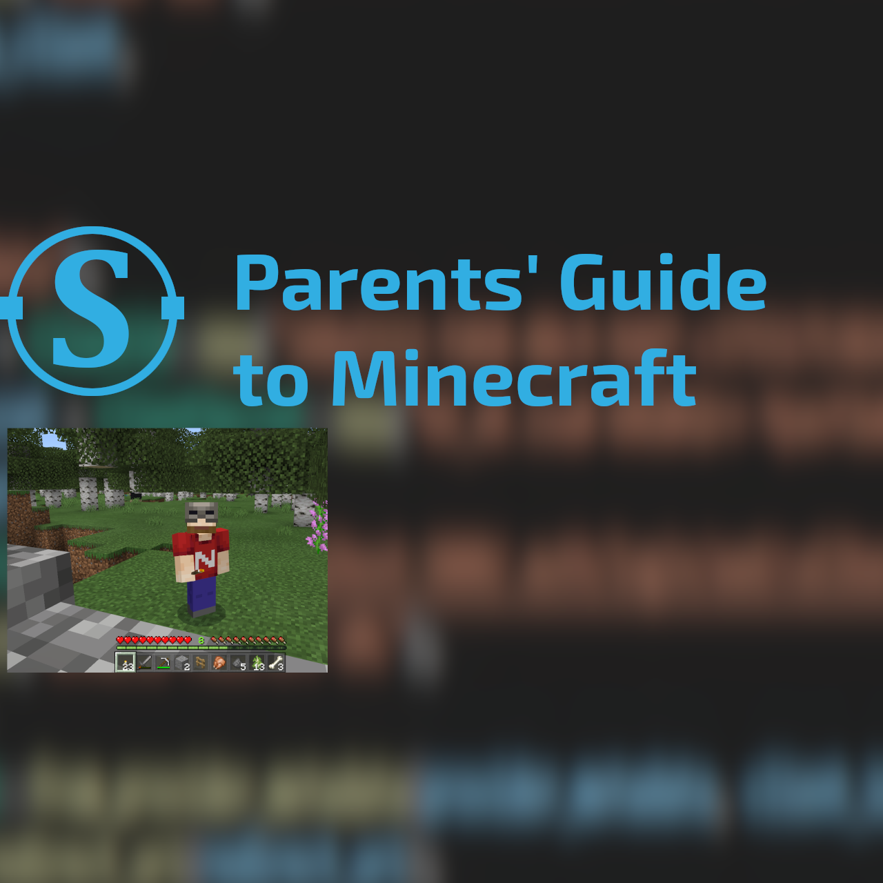 A parents' guide to Minecraft
